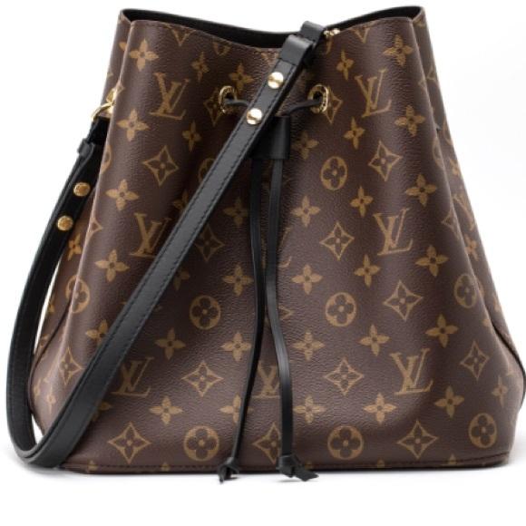 a0a1ceede332 Louis Vuitton Handbags - Louis Vuitton NeoNoe Black